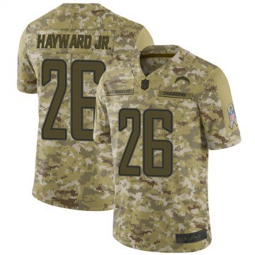 Youth Nike Los Angeles Chargers Casey Hayward Camo 2018 Salute to Service Jersey - Limited