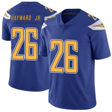 Youth Nike Los Angeles Chargers Casey Hayward Royal Color Rush Vapor Untouchable Jersey - Limited