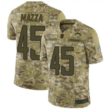 Youth Nike Los Angeles Chargers Cole Mazza Camo 2018 Salute to Service Jersey - Limited