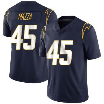 Youth Nike Los Angeles Chargers Cole Mazza Navy Team Color Vapor Untouchable Jersey - Limited