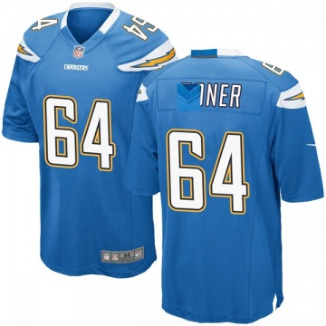 Youth Nike Los Angeles Chargers Cole Toner Blue Powder Alternate Jersey - Game