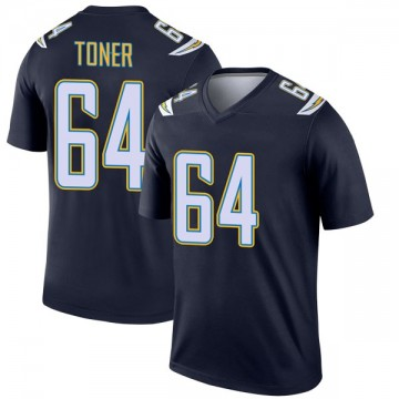 Youth Nike Los Angeles Chargers Cole Toner Navy Jersey - Legend