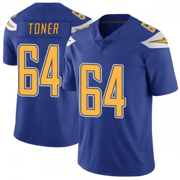 Youth Nike Los Angeles Chargers Cole Toner Royal Color Rush Vapor Untouchable Jersey - Limited