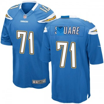 Youth Nike Los Angeles Chargers Damion Square Blue Powder Alternate Jersey - Game
