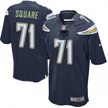 Youth Nike Los Angeles Chargers Damion Square Navy Team Color Jersey - Game