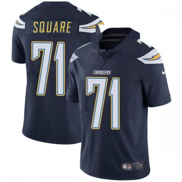 Youth Nike Los Angeles Chargers Damion Square Navy Team Color Vapor Untouchable Jersey - Limited