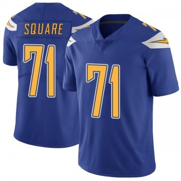 Youth Nike Los Angeles Chargers Damion Square Royal Color Rush Vapor Untouchable Jersey - Limited