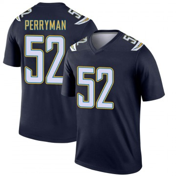 Youth Nike Los Angeles Chargers Denzel Perryman Navy Jersey - Legend