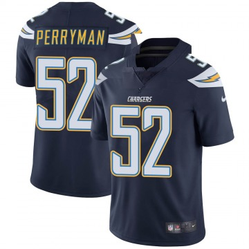 Youth Nike Los Angeles Chargers Denzel Perryman Navy Team Color Vapor Untouchable Jersey - Limited