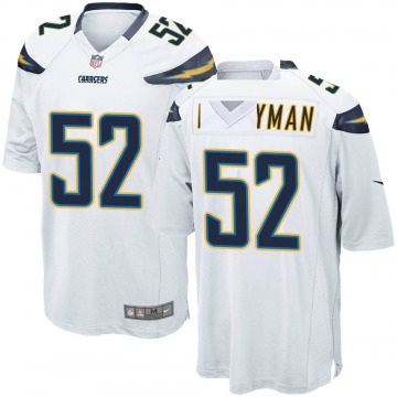 Youth Nike Los Angeles Chargers Denzel Perryman White Jersey - Game