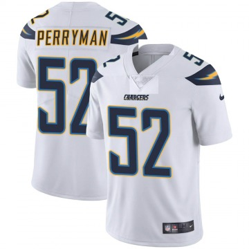 Youth Nike Los Angeles Chargers Denzel Perryman White Vapor Untouchable Jersey - Limited