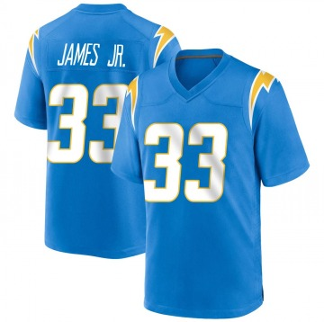 Youth Nike Los Angeles Chargers Derwin James Blue Powder Alternate Jersey - Game