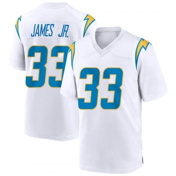 Youth Nike Los Angeles Chargers Derwin James White Jersey - Game