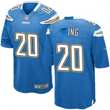 Youth Nike Los Angeles Chargers Desmond King Blue Powder Alternate Jersey - Game