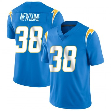 Youth Nike Los Angeles Chargers Detrez Newsome Blue Powder Vapor Untouchable Alternate Jersey - Limited