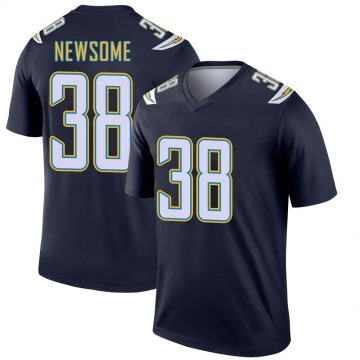 Youth Nike Los Angeles Chargers Detrez Newsome Navy Jersey - Legend