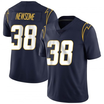 Youth Nike Los Angeles Chargers Detrez Newsome Navy Team Color Vapor Untouchable Jersey - Limited