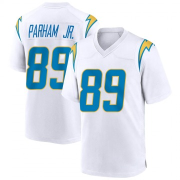Youth Nike Los Angeles Chargers Donald Parham White Jersey - Game
