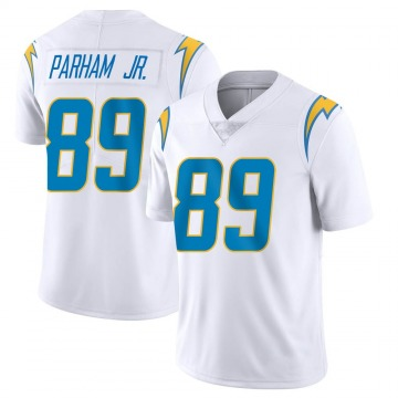 Youth Nike Los Angeles Chargers Donald Parham White Vapor Untouchable Jersey - Limited