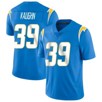 Youth Nike Los Angeles Chargers Donte Vaughn Blue Powder Vapor Untouchable Alternate Jersey - Limited