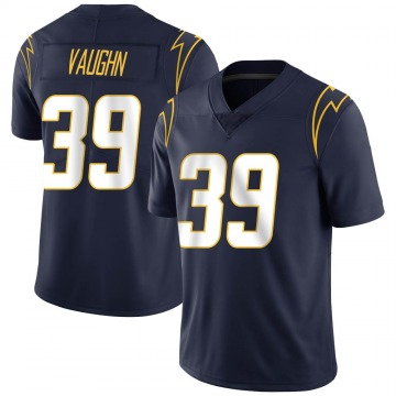 Youth Nike Los Angeles Chargers Donte Vaughn Navy Team Color Vapor Untouchable Jersey - Limited