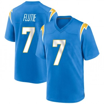 Youth Nike Los Angeles Chargers Doug Flutie Blue Powder Alternate Jersey - Game