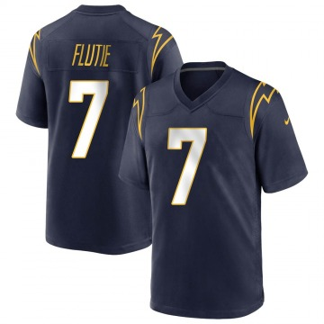 Youth Nike Los Angeles Chargers Doug Flutie Navy Team Color Jersey - Game