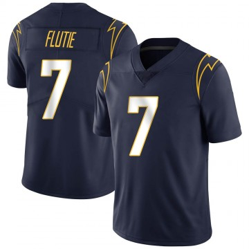 Youth Nike Los Angeles Chargers Doug Flutie Navy Team Color Vapor Untouchable Jersey - Limited