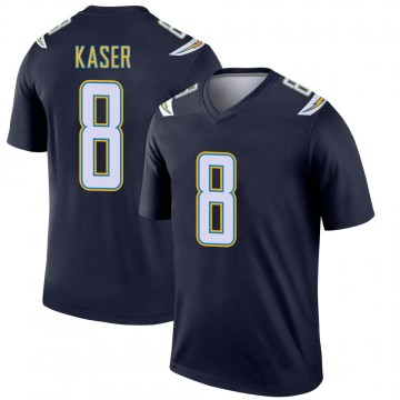Youth Nike Los Angeles Chargers Drew Kaser Navy Jersey - Legend