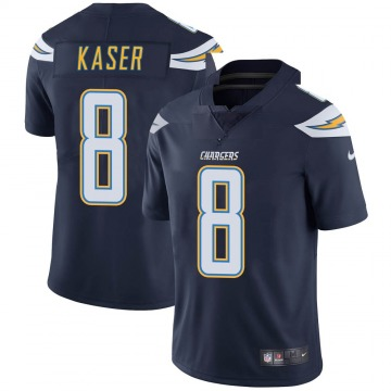 Youth Nike Los Angeles Chargers Drew Kaser Navy Team Color Vapor Untouchable Jersey - Limited