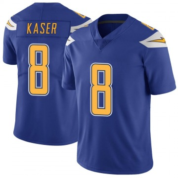 Youth Nike Los Angeles Chargers Drew Kaser Royal Color Rush Vapor Untouchable Jersey - Limited