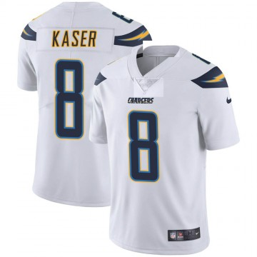 Youth Nike Los Angeles Chargers Drew Kaser White Vapor Untouchable Jersey - Limited