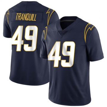 Youth Nike Los Angeles Chargers Drue Tranquill Navy Team Color Vapor Untouchable Jersey - Limited
