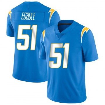 Youth Nike Los Angeles Chargers Emeke Egbule Blue Powder Vapor Untouchable Alternate Jersey - Limited