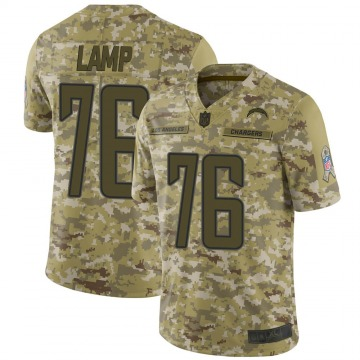 Youth Nike Los Angeles Chargers Forrest Lamp Camo 2018 Salute to Service Jersey - Limited