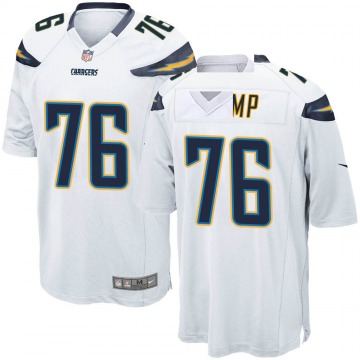 Youth Nike Los Angeles Chargers Forrest Lamp White Jersey - Game