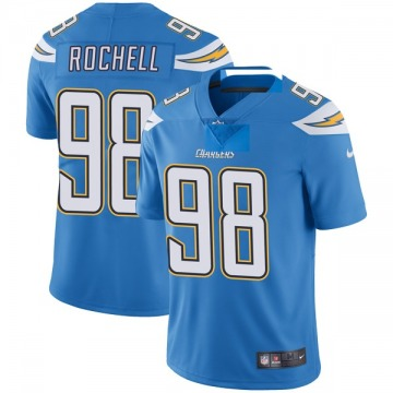 Youth Nike Los Angeles Chargers Isaac Rochell Blue Powder Vapor Untouchable Alternate Jersey - Limited