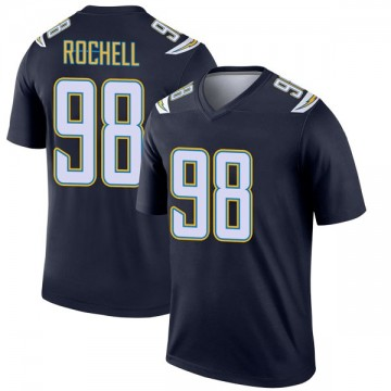 Youth Nike Los Angeles Chargers Isaac Rochell Navy Jersey - Legend