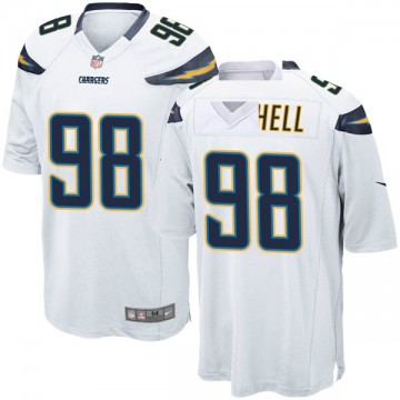 Youth Nike Los Angeles Chargers Isaac Rochell White Jersey - Game
