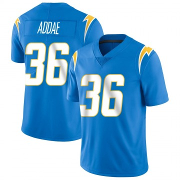 Youth Nike Los Angeles Chargers Jahleel Addae Blue Powder Vapor Untouchable Alternate Jersey - Limited