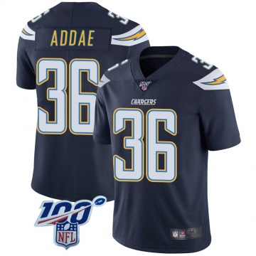 Youth Nike Los Angeles Chargers Jahleel Addae Navy 100th Vapor Jersey - Limited