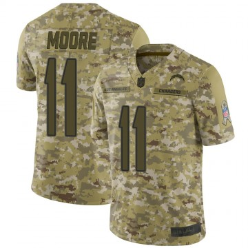 Youth Nike Los Angeles Chargers Jason Moore Camo 2018 Salute to Service Jersey - Limited