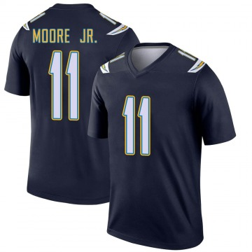 Youth Nike Los Angeles Chargers Jason Moore Navy Jersey - Legend
