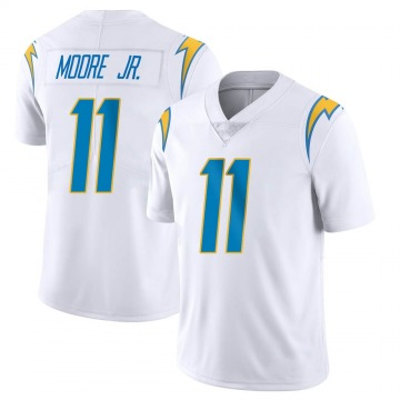 Youth Nike Los Angeles Chargers Jason Moore White Vapor Untouchable Jersey - Limited