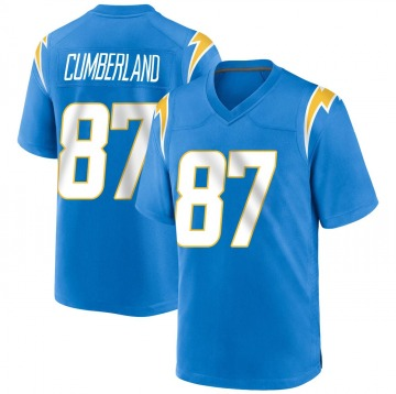 Youth Nike Los Angeles Chargers Jeff Cumberland Blue Powder Alternate Jersey - Game