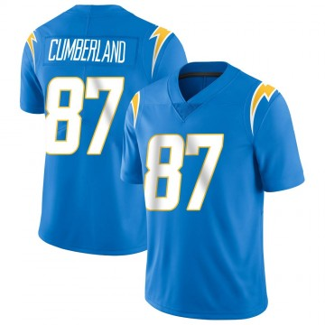 Youth Nike Los Angeles Chargers Jeff Cumberland Blue Powder Vapor Untouchable Alternate Jersey - Limited