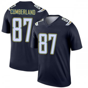 Youth Nike Los Angeles Chargers Jeff Cumberland Navy Jersey - Legend