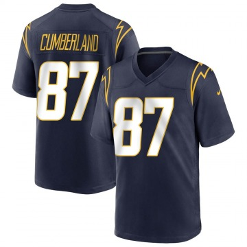Youth Nike Los Angeles Chargers Jeff Cumberland Navy Team Color Jersey - Game