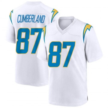 Youth Nike Los Angeles Chargers Jeff Cumberland White Jersey - Game