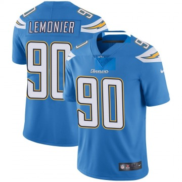 Youth Nike Los Angeles Chargers Jessie Lemonier Blue Powder Vapor Untouchable Alternate Jersey - Limited